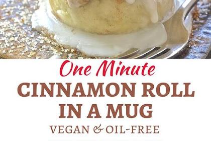 One Minute Cinnamon Roll in a Mug