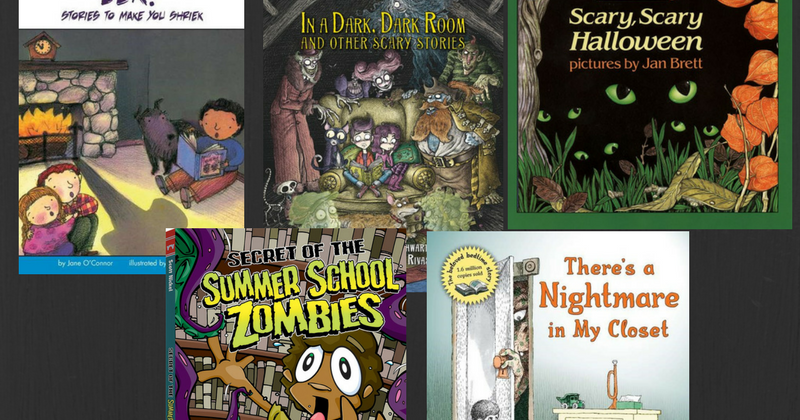 Great Kid Books: Scary books for beginning readers: #Road2Reading