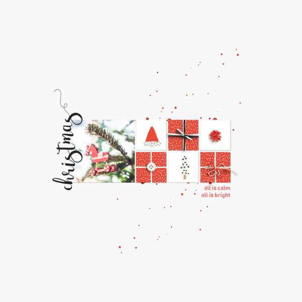 all is calm © sylvia • sro 2018 • december stuff by dunia designs