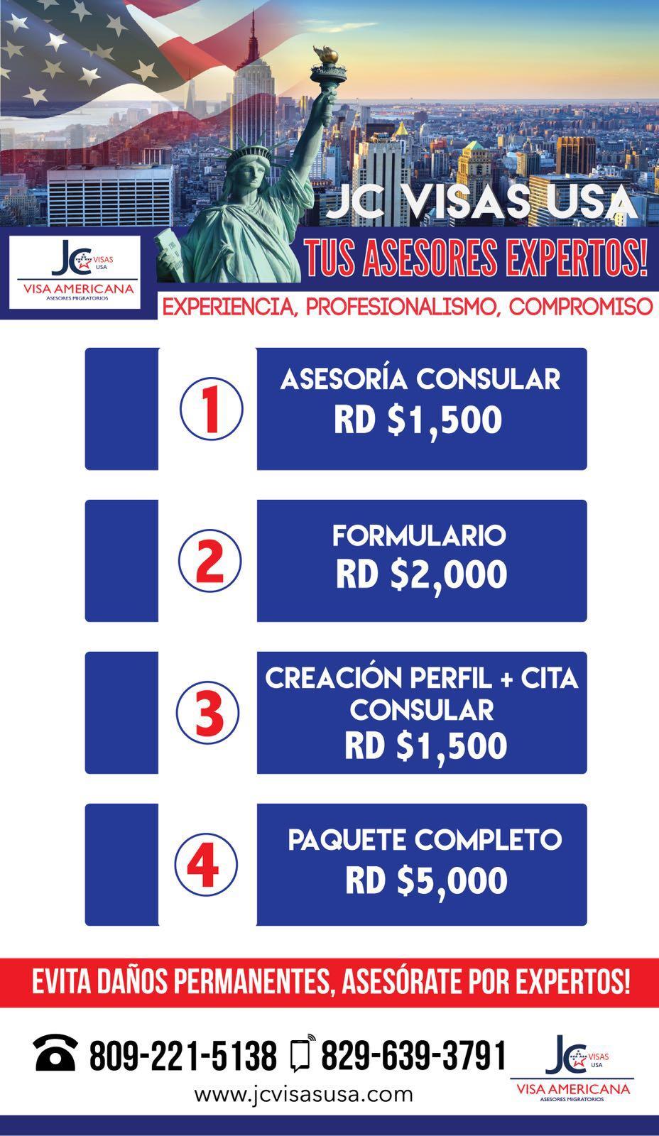REQUISITOS PARA VISA DE PASEO DE LOS ESTADOS UNIDOS. B1/B2 ~ JC ...