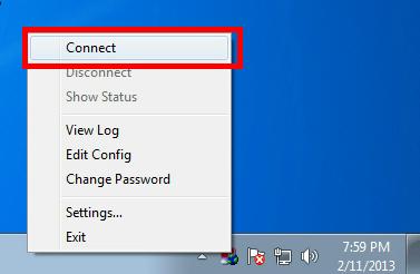 Cara Menggunakan Open VPN