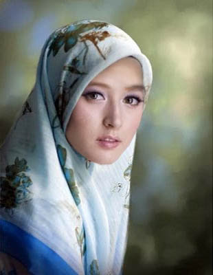 Foto Wanita Berjilbab Tercantik