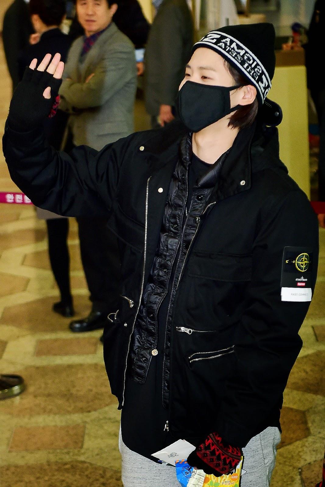 why do kpop idols wear masks