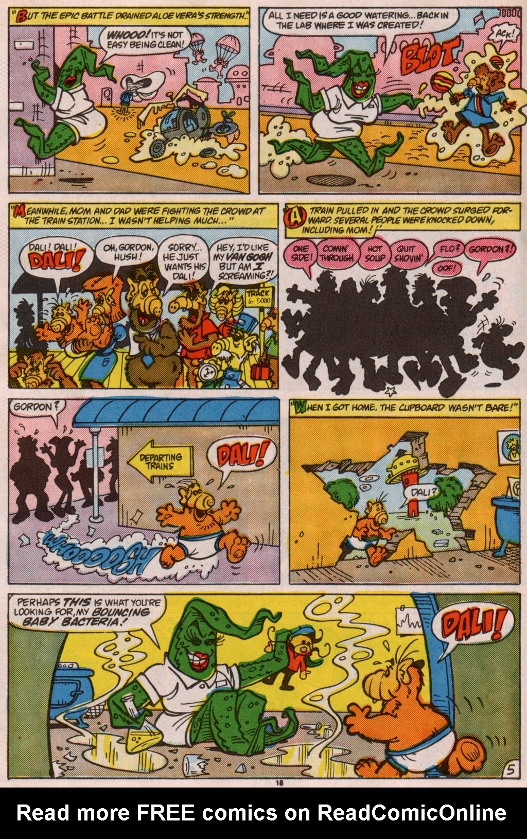 Read online ALF comic -  Issue #7 - 15