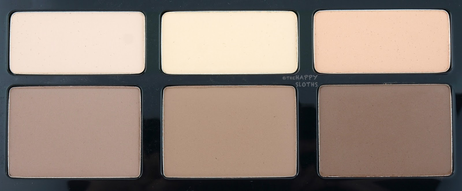 Kat Von D Shade + Light Face Contour Refillable Palette Review Swatches