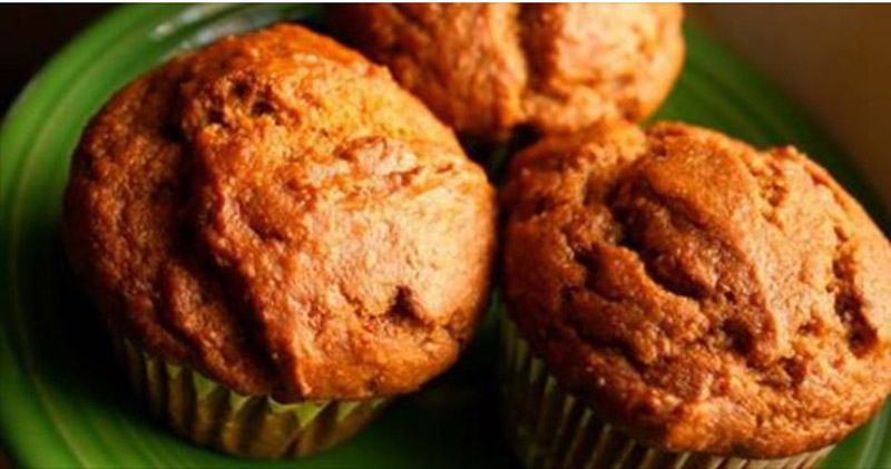 Recipe: Flourless Coconut and Sweet Potato Muffins with Ginger, Cinnamon and Maple Syrup