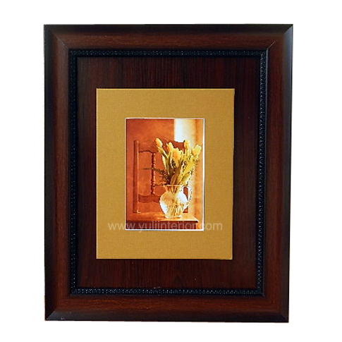 Brown and Gold Tulips Wall Frame, Nigeria