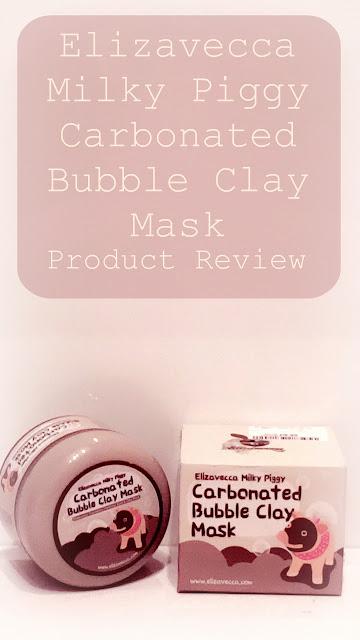 Elizavecca Milky Piggy Carbonated Bubble Clay Mask - Product Review