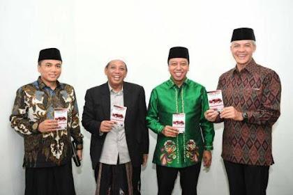 Kyai Sarang Luncurkan Buku Memilih Jokowi-Amin Prespektif Fikih
