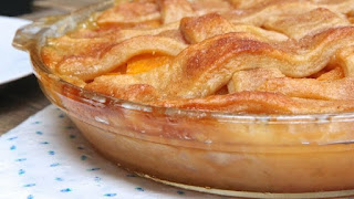 MY GRANDMOTHER'S FRESH PEACH COBBLER