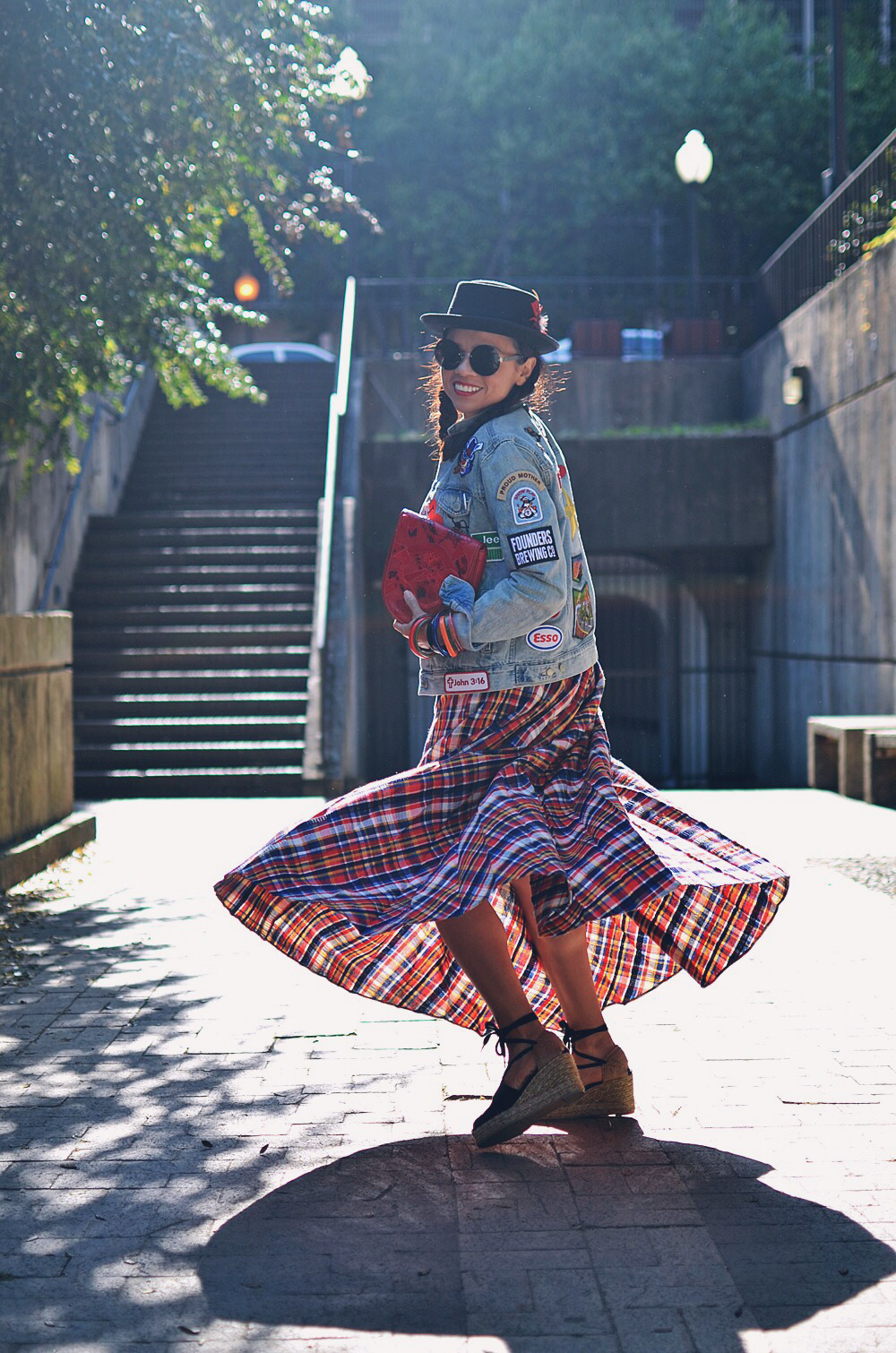 Eclectic style blogger