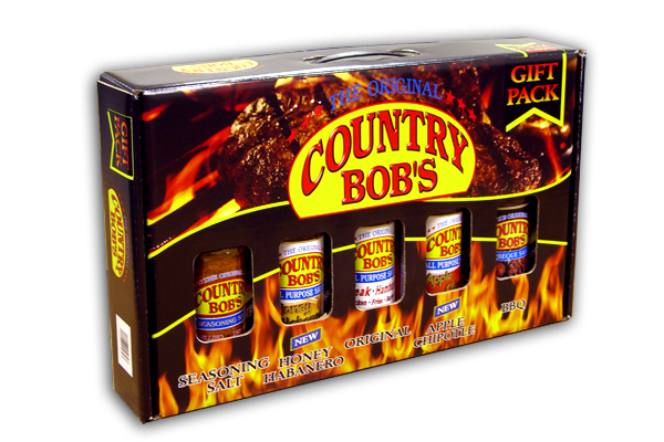 COUNTRY BOB'S Sauce Gift Packs