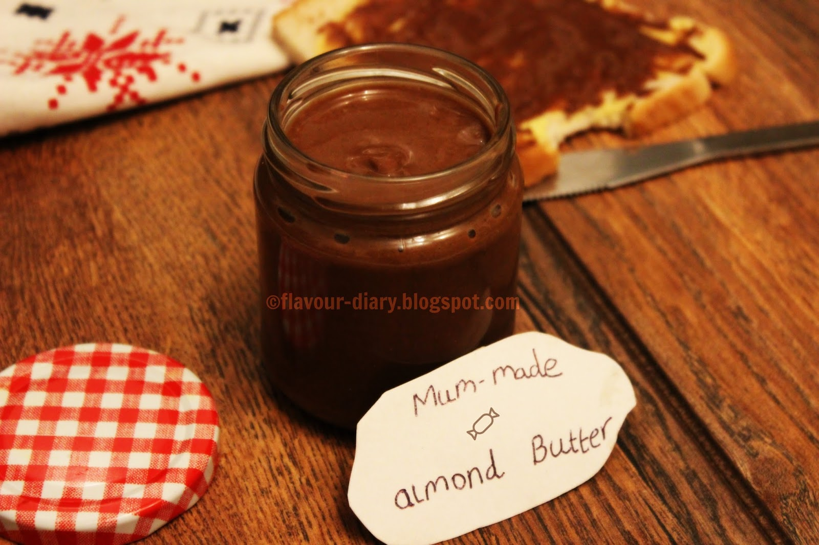 homemade chocolate almond butter recipe