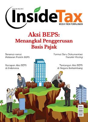 Majalah Pajak InsideTax edisi Aksi BEPS (Base Erotion & Profit Shifting)