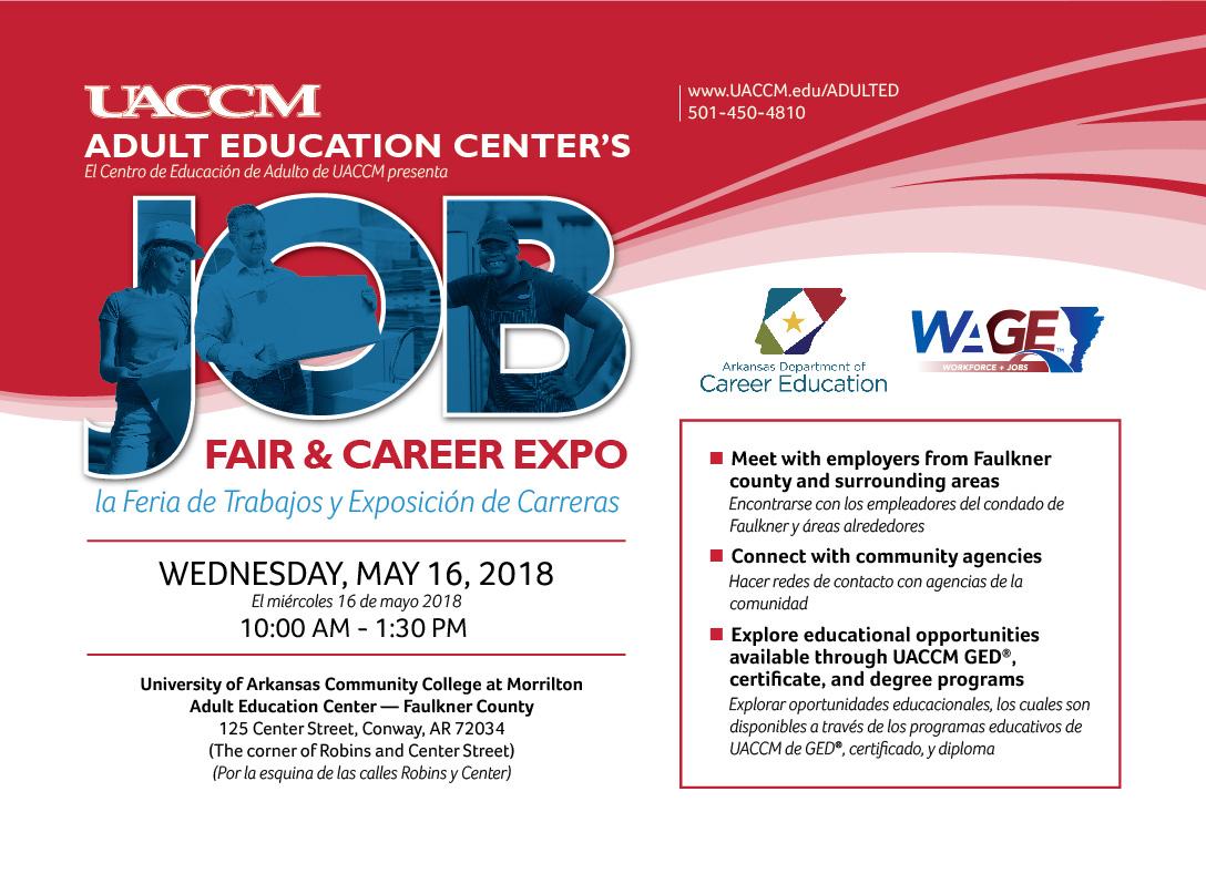UACCM | The Campus Link: 7th Annual Job Fair, Career Expo at UACCM ...