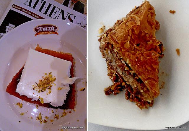 Ekmek Kataifi, doce típico grego