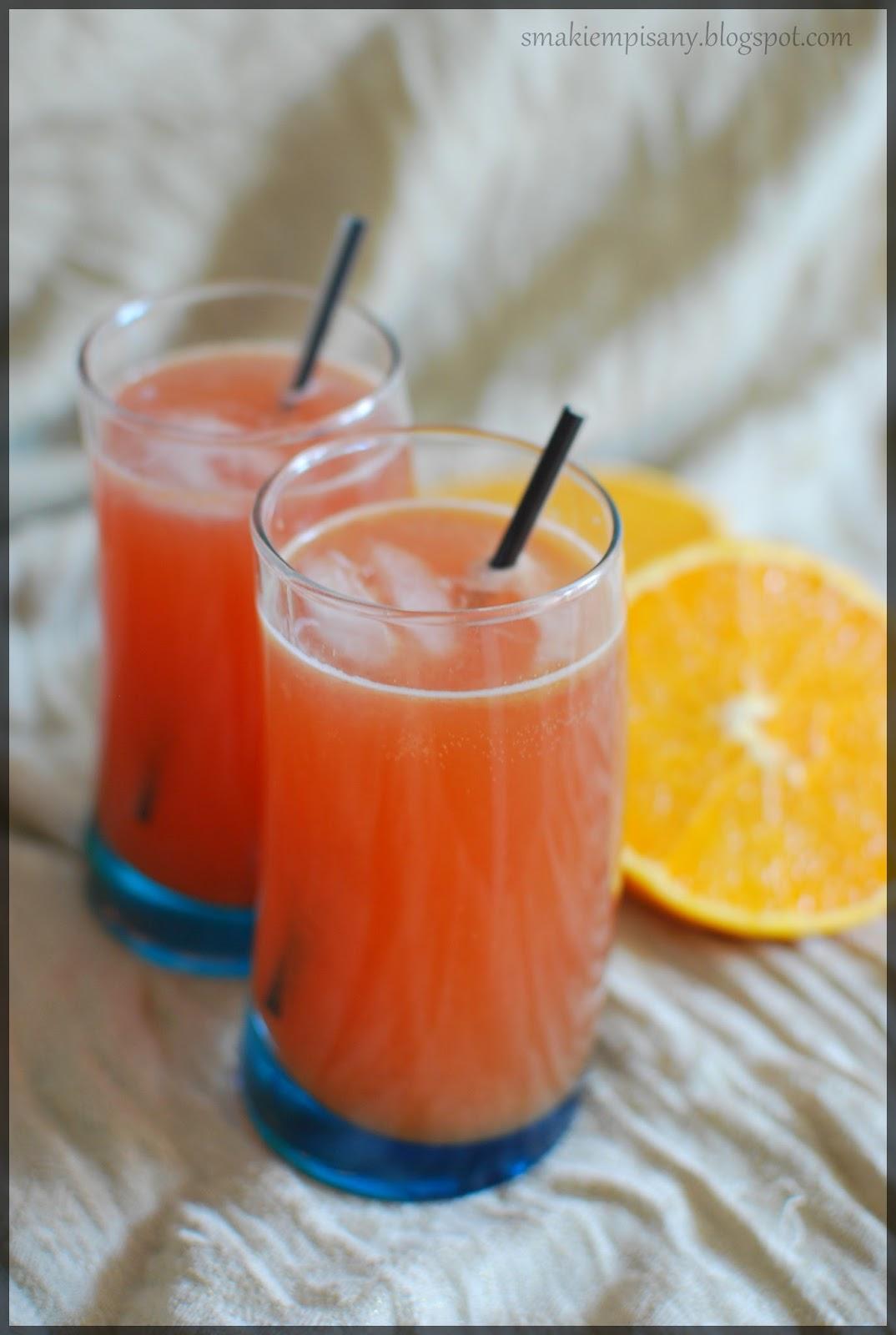 drink żurawinowa mimoza