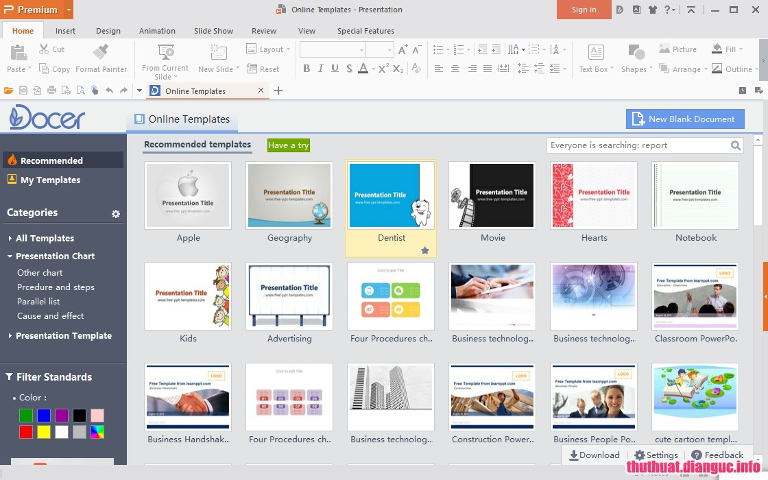Download WPS Office 2016 Premium 10.2.0.7478 Full Cr@ck – Thay thế MS Office nhỏ gọn
