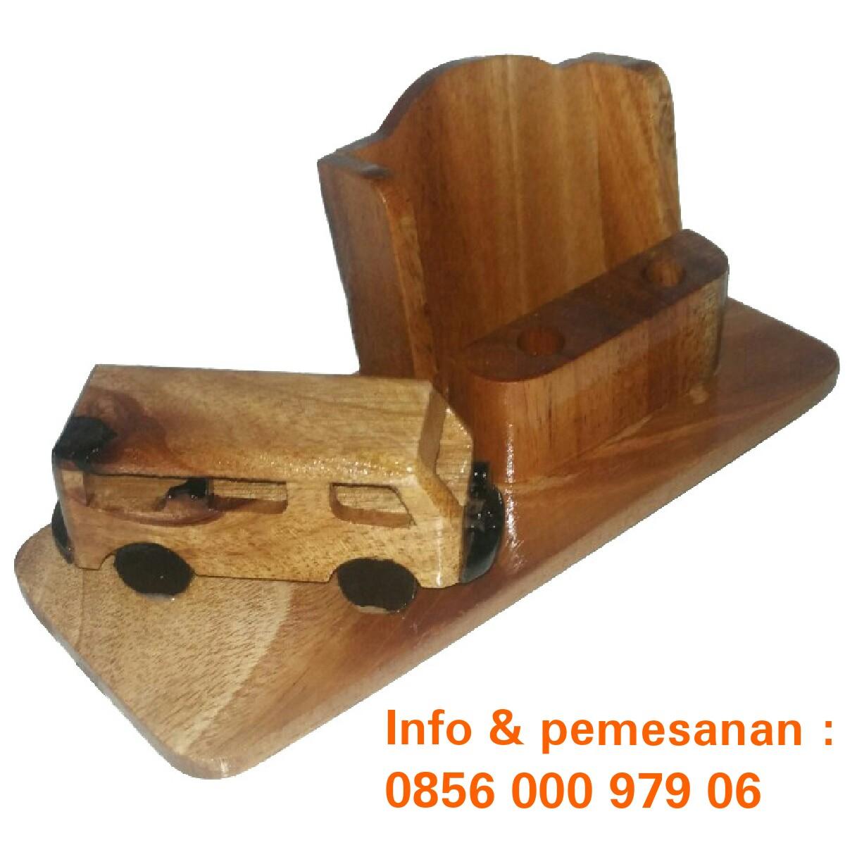 Grosir Souvenir Kayu Tempat Pensil Dari Pinsil Murah Kotak Jual Harga Supplier Kerajinan