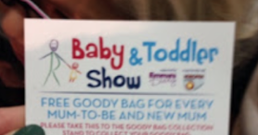 Baby and Toddler Show 2 tickets to Giveaway