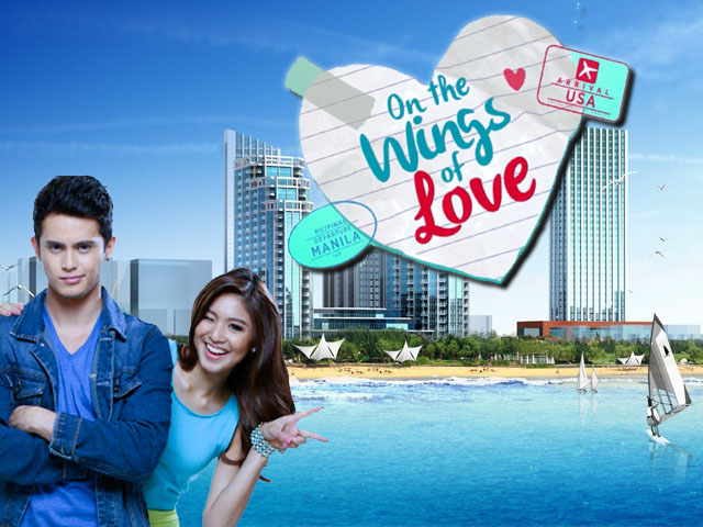 Jadine and James On The Wings Of Love