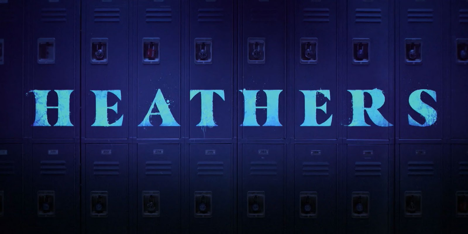 Heathers Intro Title Card