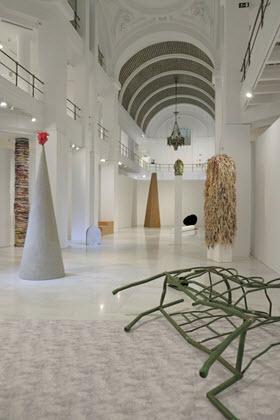 'La caída y otras formas de vida' exposición de la artista Sara Ramo en la Sala Alcalá 31