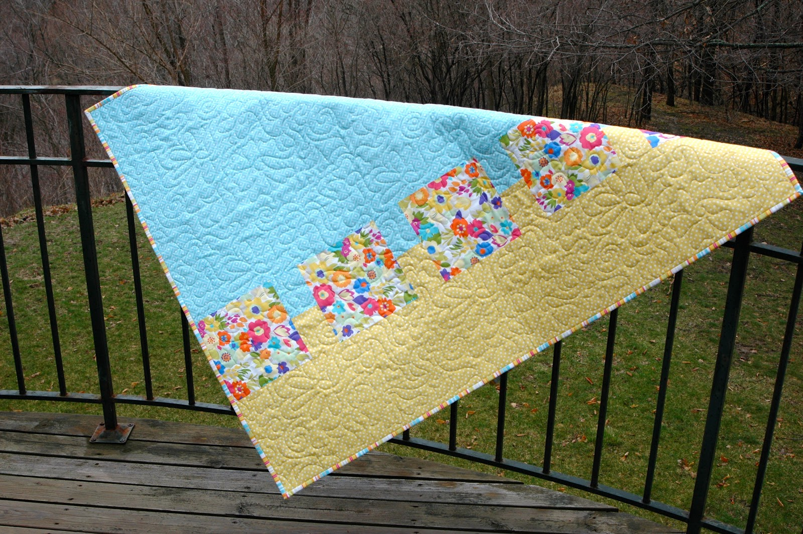 Patterns for modern baby quilts