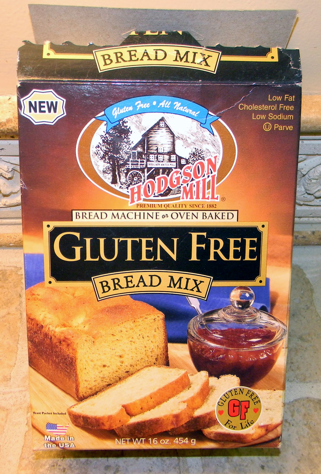 4 U Gluten Free: My First Loaf of Bread in New Bread Machine