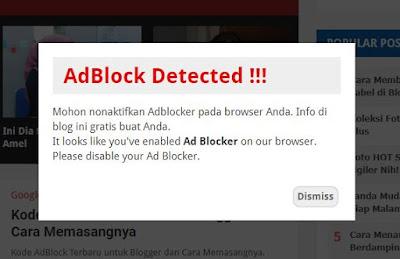 Kode Anti-AdBlock