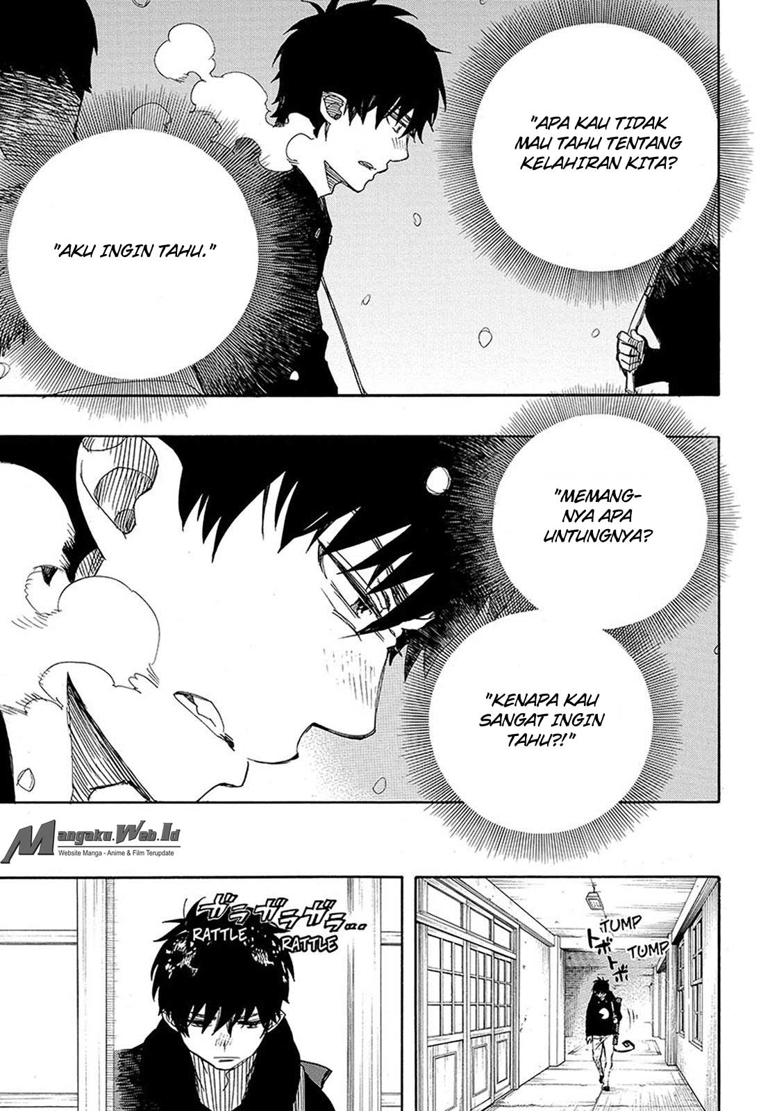 Ao no Exorcist Chapter 95-22