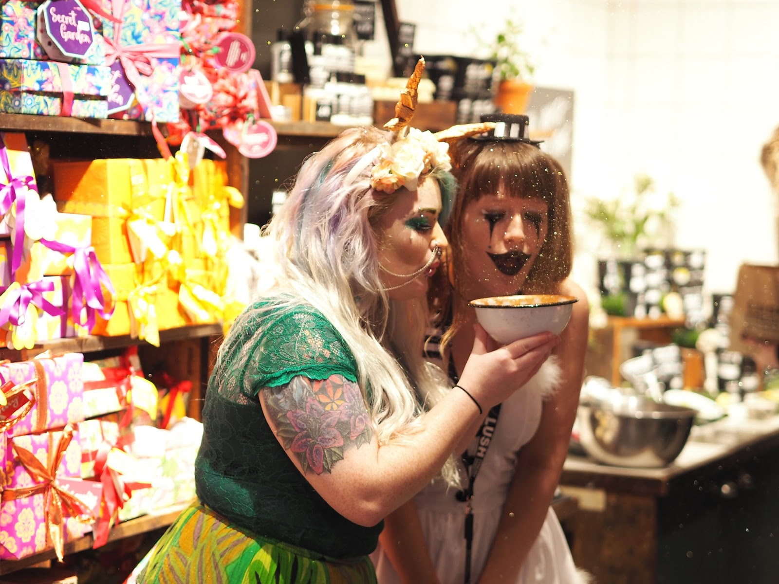 Lush Portsmouth Blogger Event, Katie Kirk Loves, UK Blogger, Beauty Blogger, Beauty Influencer, Lush Halloween 2017, Lush Christmas 2017, Lush Cosmetics, Lush UK, UK Beauty Blogger, Sussex Blogger, Lush Bath Bombs, Skincare Blogger, Lush Store Event, Lush Portmouth
