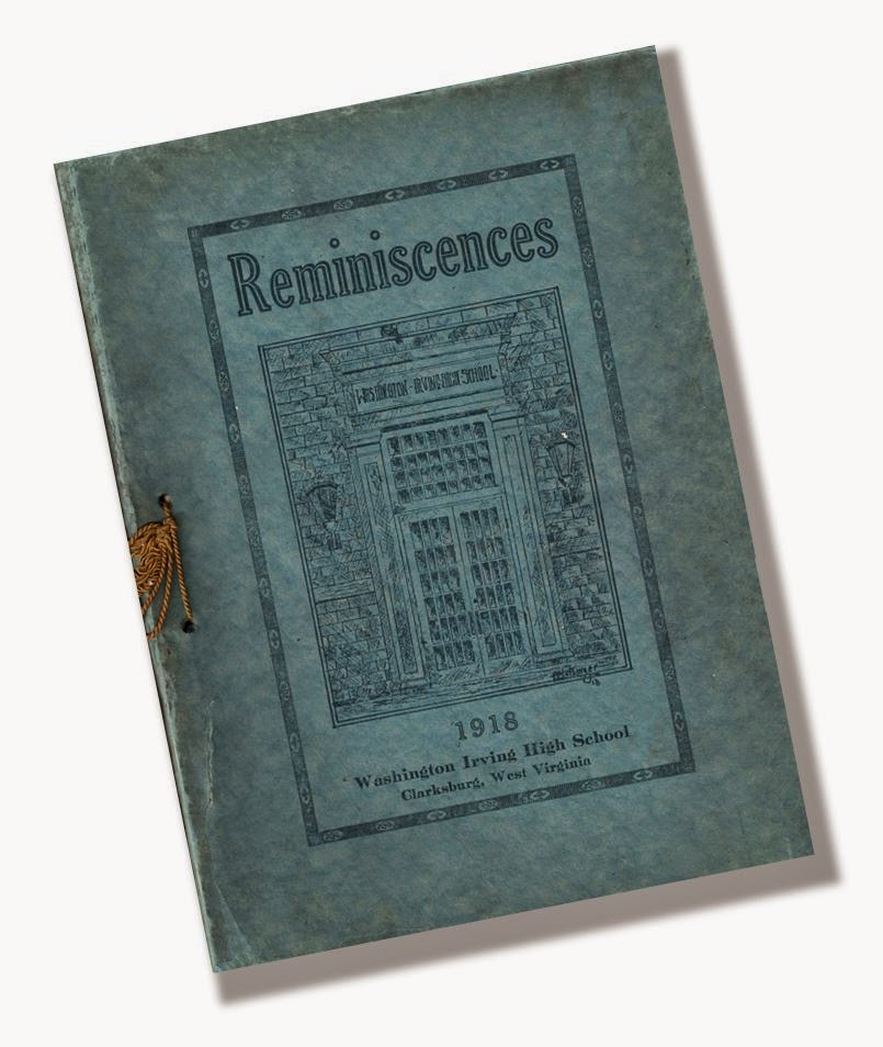 1918 Reminiscences yearbook staff The History