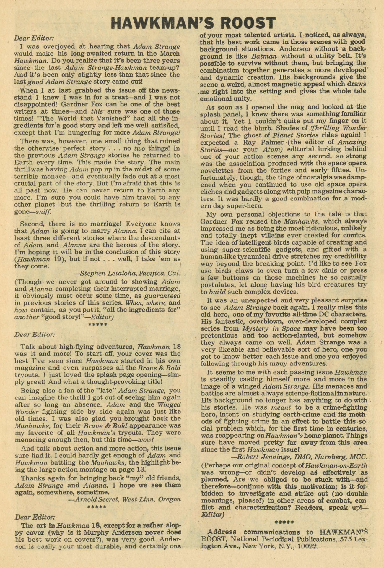Hawkman (1964) issue 20 - Page 15