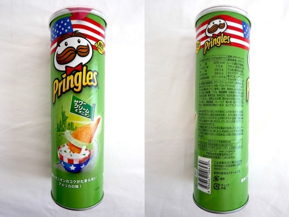 Pringles Flavour of the World – Sour Cream & Onion