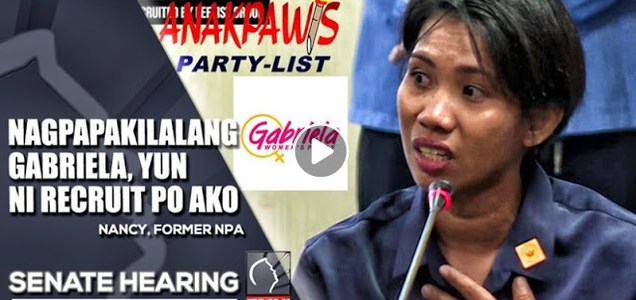 Must Watch: Ex-MSU Athlete Turned Rebel Shows Proof that Gabriela & LFS is Allegedly Connected with the NPA | PhilNews