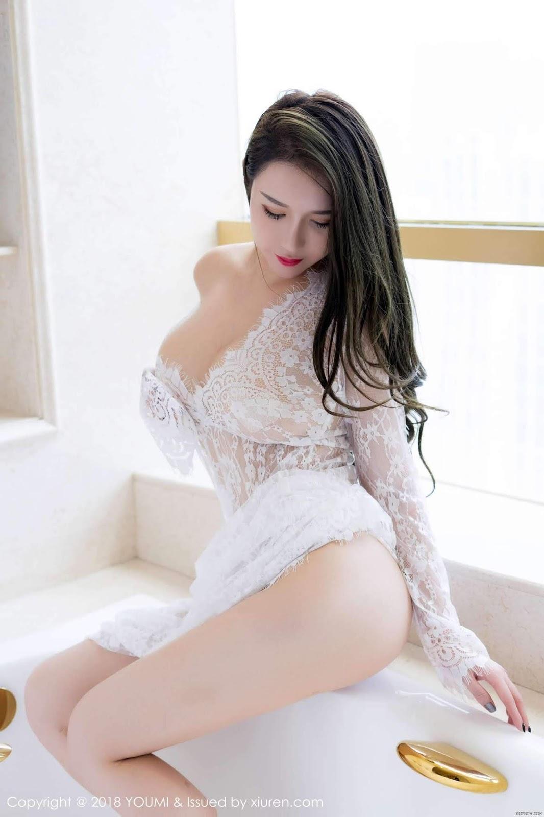 Chinese Model Egg-尤妮丝 Youmi Vol 113 (43 Pict)