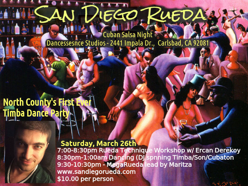 Ercan Derekoy is known on the other side of the world as a well-known rueda  de casino instructor. He moved to San Diego in early 2014  Maritza and  Orlando s ... 7d6dc60e296