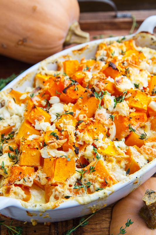 butternut squash and feta gratin recipe on closet cooking