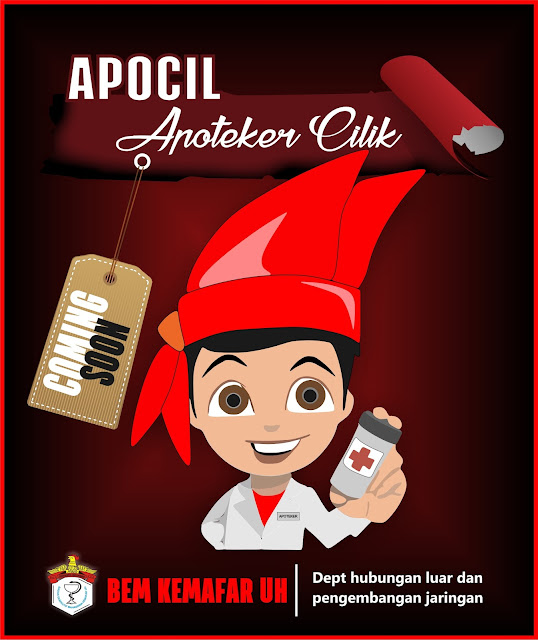 Coming Soon APOCIL (Apoteker Cilik)