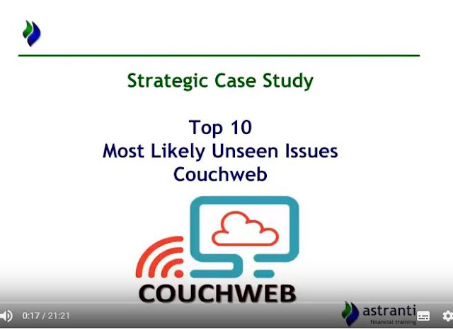 Top 10 issues video  - CIMA SCS May 2018 - Most likely unseen issues - Couchweb