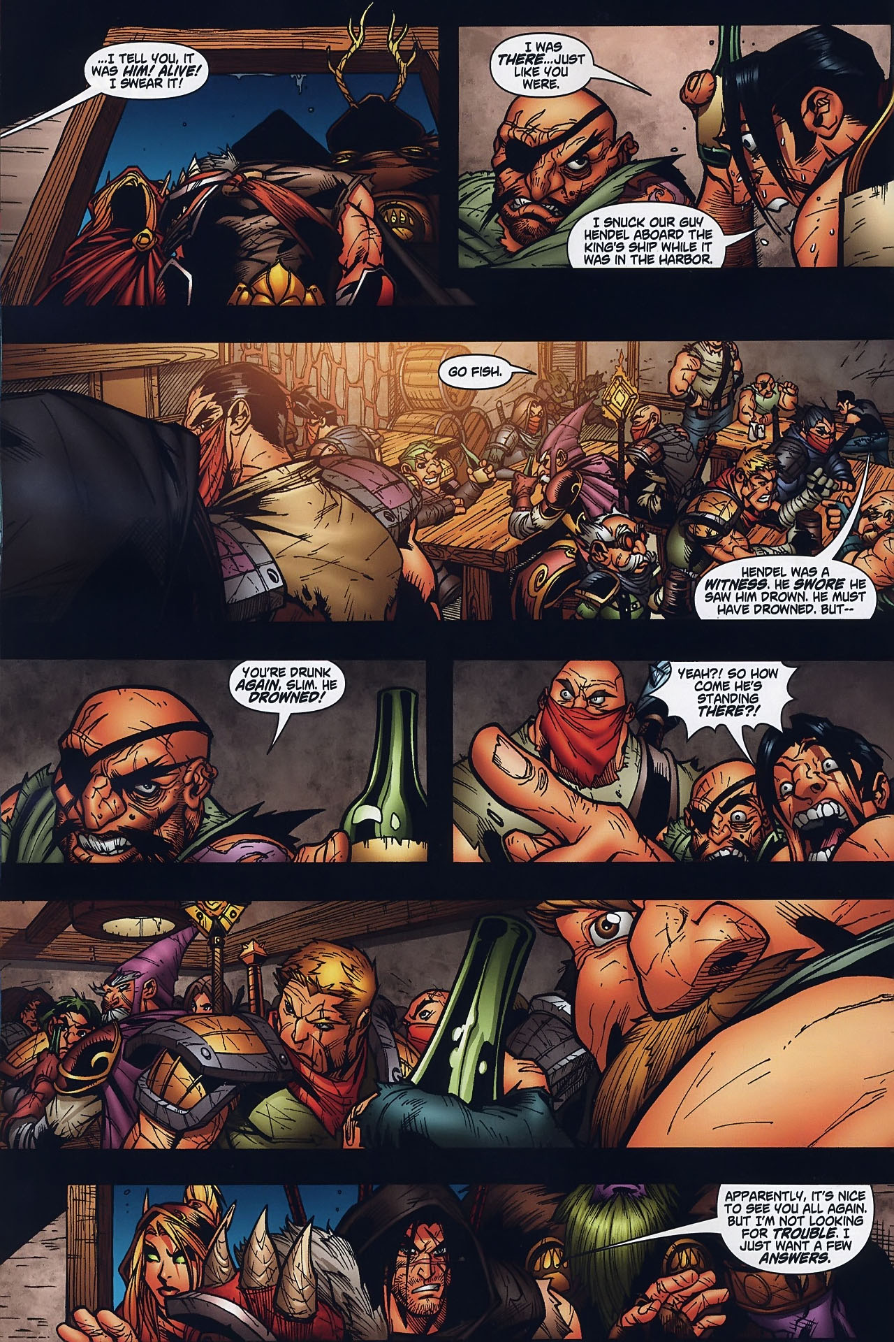 Read online World of Warcraft comic -  Issue #8 - 11