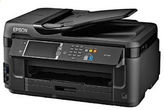 Epson WorkForce WF-7610 Driver Download Free