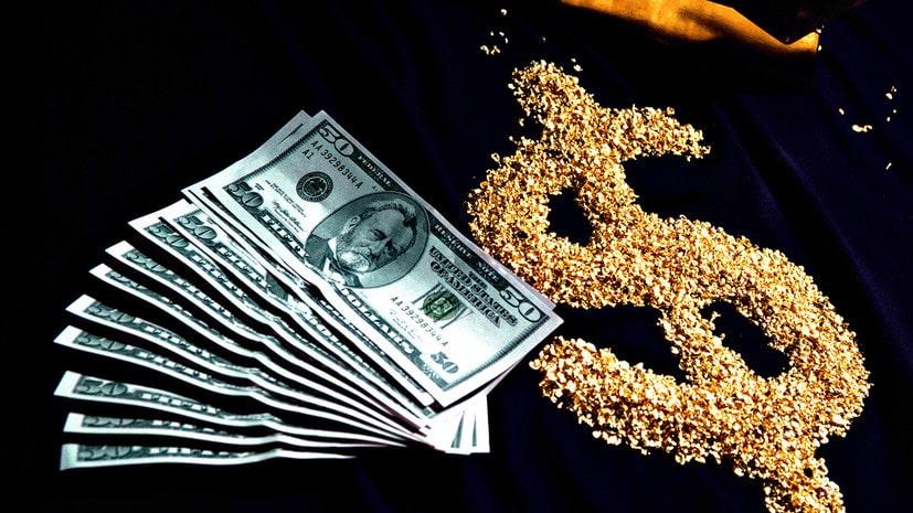 Мировая валюта доллар и золото