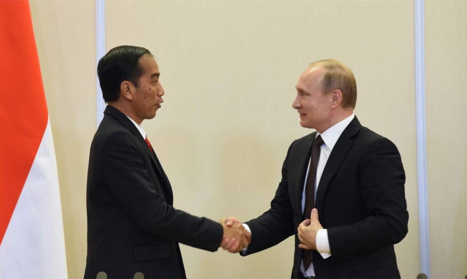 Putin menyampaikan belasungkawa sehubungan dengan bencana di Indonesia