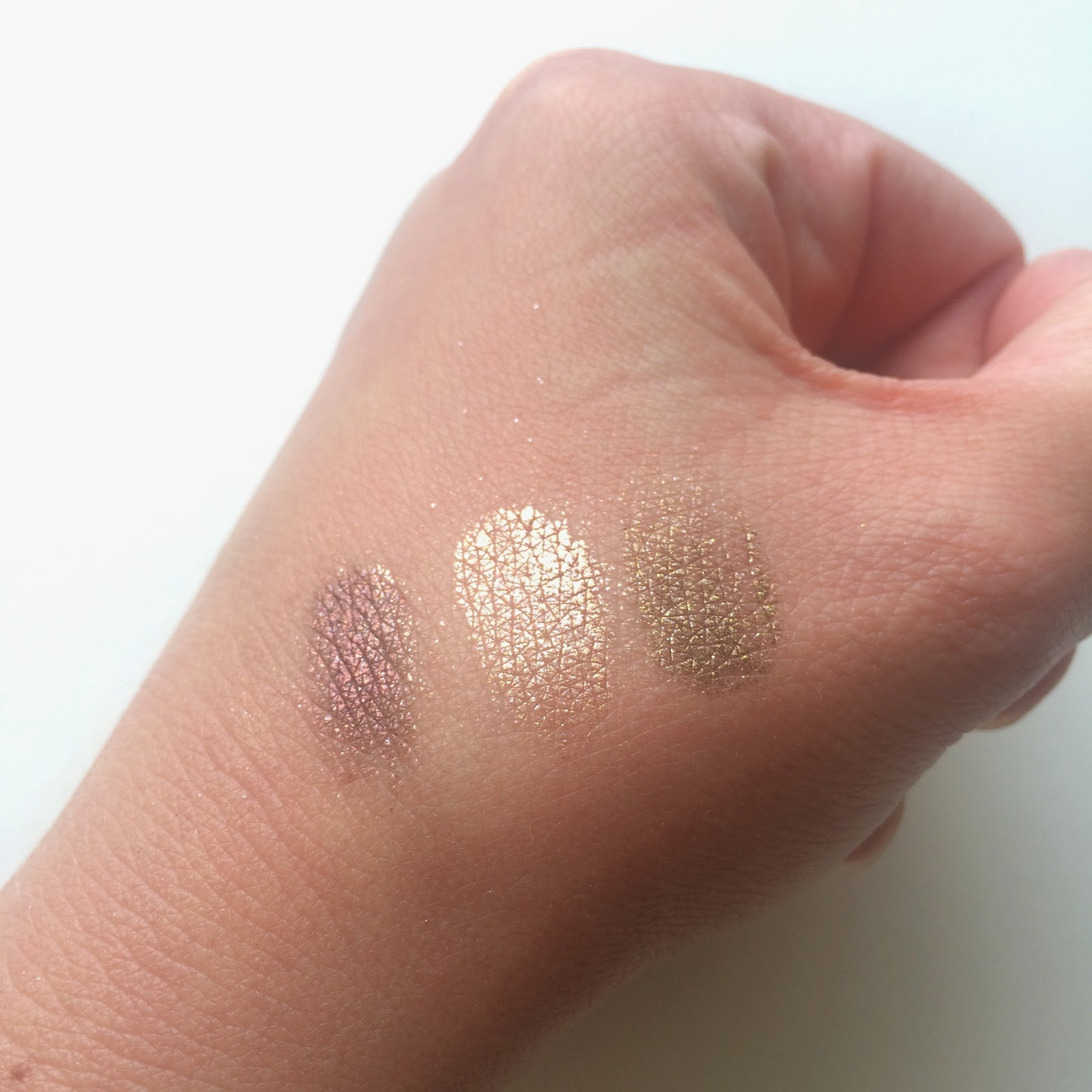 Australis Metallix Eye Shadow swatches
