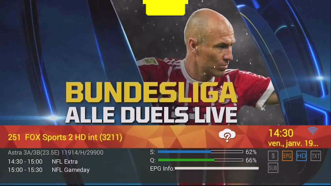 FOX Sports 2 HD int / EUROSPORT2 BE - Free - Astra Frequency