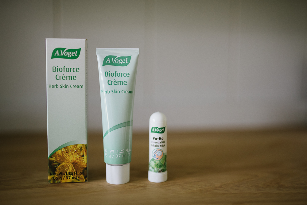 The First One Was Bioforce Herbal Hand Cream Which Has A Yellowy Tinge Presumably Due To Herbs Used But Smells Quite Nice