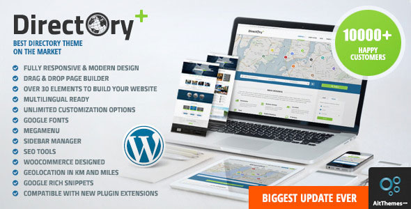 Free Download latest version of Directory Portal V1.28 WordPress Theme