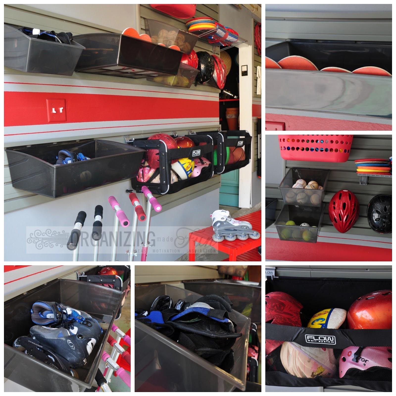 A Fun, Organized Garage